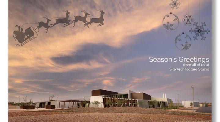 SITE Architecture Studio Christmas Card HR